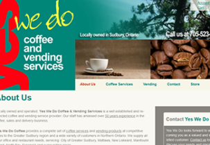 yes we do coffee website